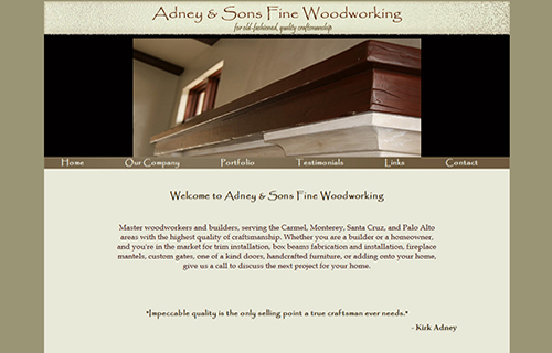 Adney & Sons Fine Woodworking