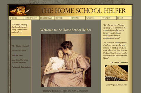The Home School Helper